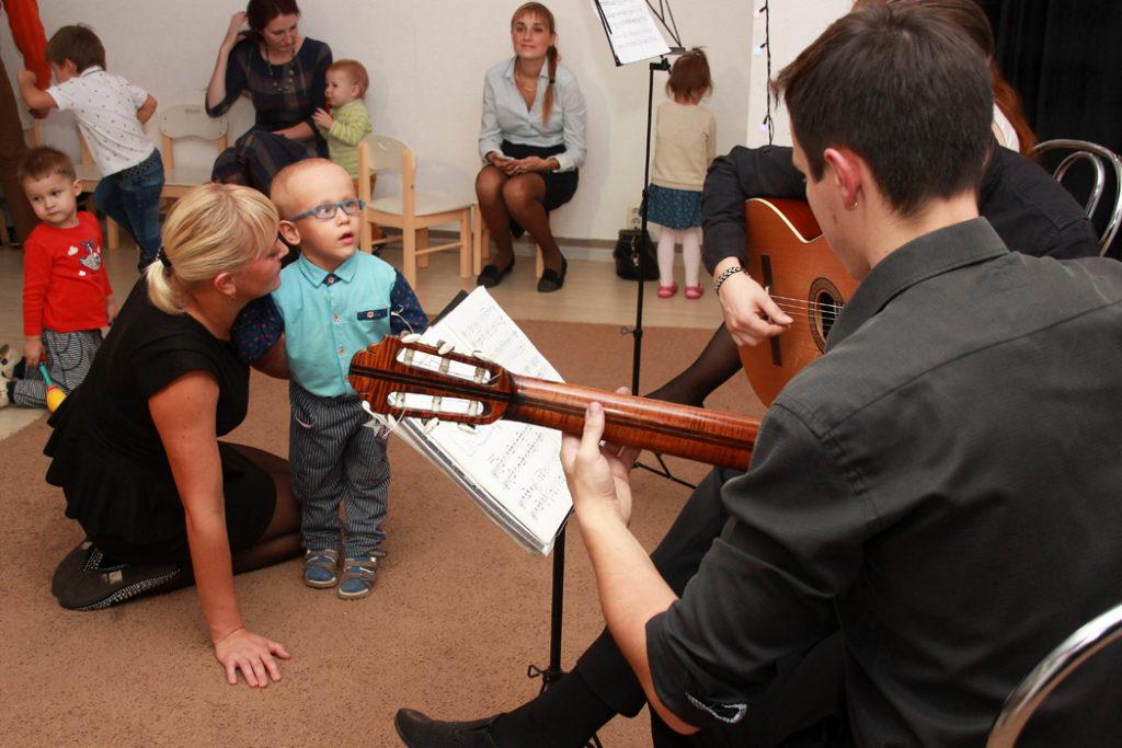 концерты живой музыки для малышей