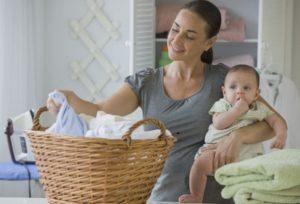 домашние дела с ребенком