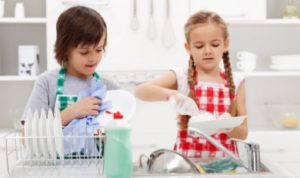 Как сохранить порядок с детьми?